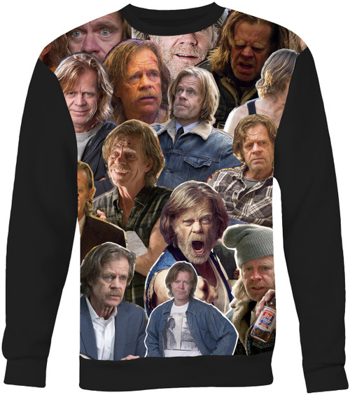 Frank Gallagher (Shameless) Collage Sweater Sweatshirt