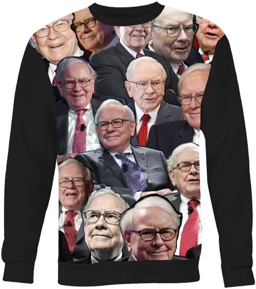 Warren Buffett Collage Sweater Sweatshirt