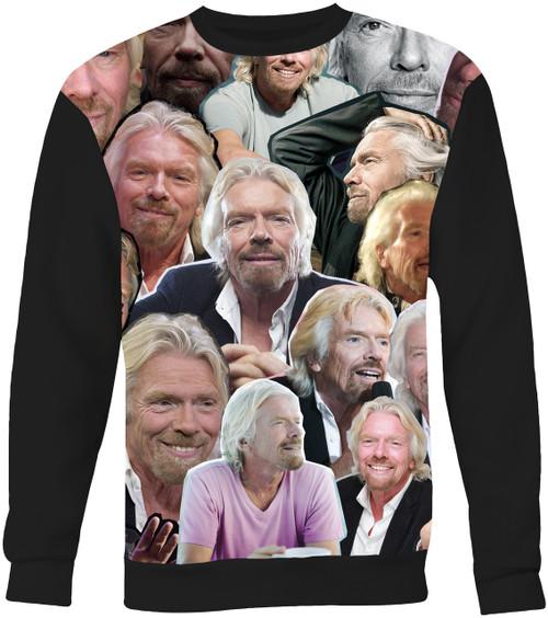 Richard Branson Collage Sweater Sweatshirt