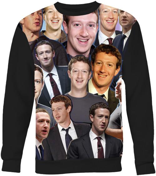 Mark Zuckerberg Collage Sweater Sweatshirt