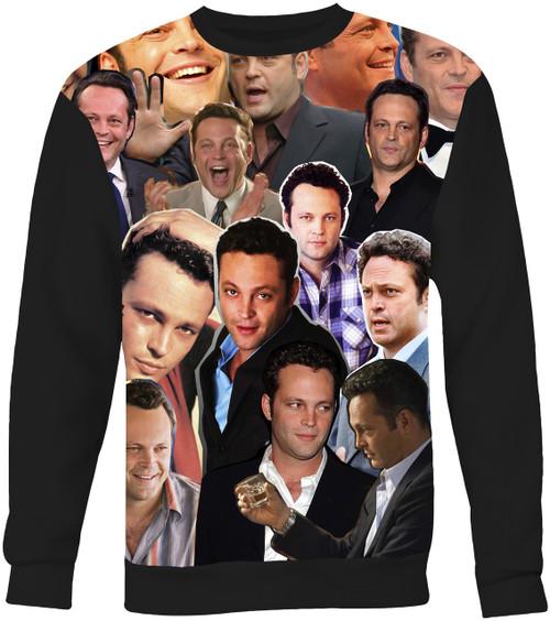 Vince Vaughn Collage Sweater Sweatshirt