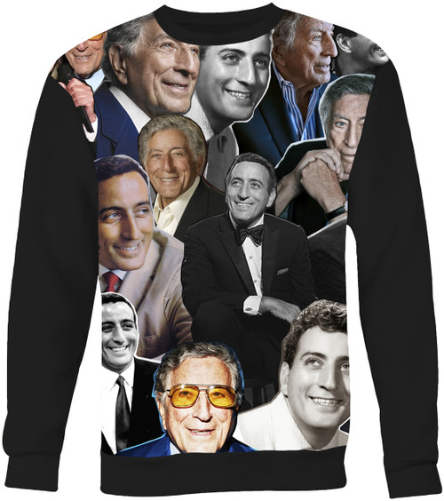 Tony Bennett Collage Sweater Sweatshirt