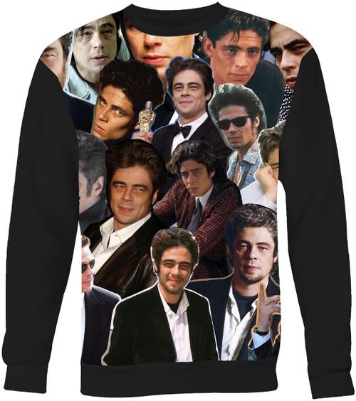 Benicio Del Toro Collage Sweater Sweatshirt
