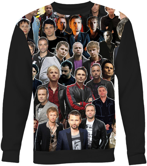 Muse Collage Sweater Sweatshirt