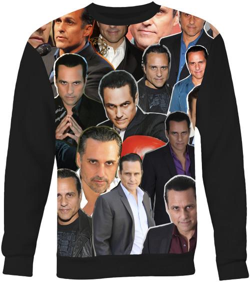 Maurice Benard Collage Sweater Sweatshirt