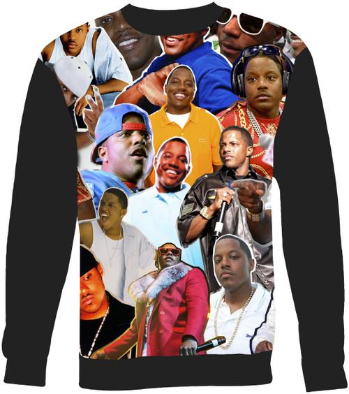 Mase Collage Sweater Sweatshirt