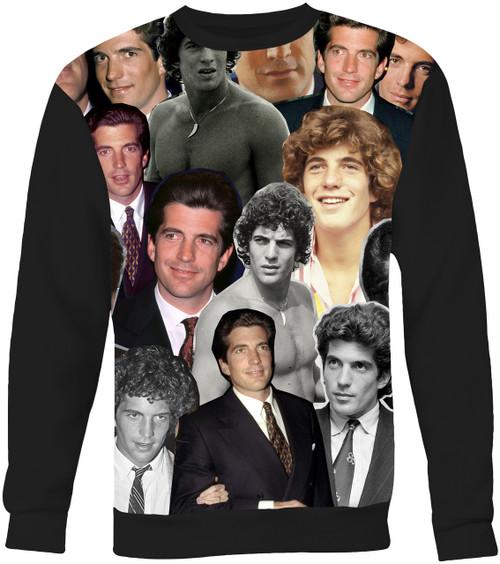 John F. Kennedy Jr. Collage Sweater Sweatshirt