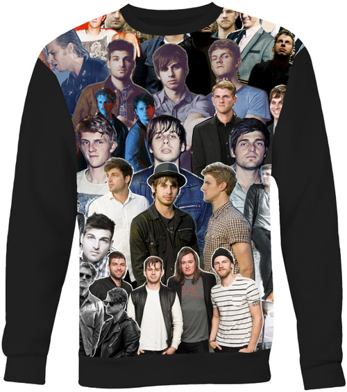 Foster The People Collage Sweater Sweatshirt