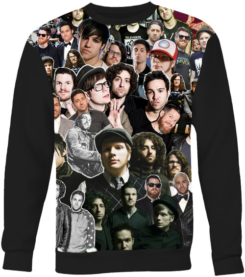 Fall Out Boy Collage Sweater Sweatshirt