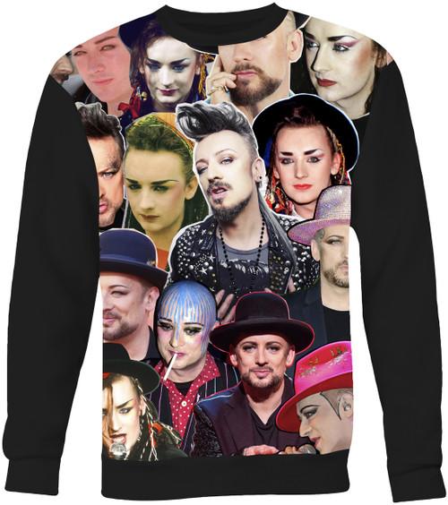 Boy George Collage Sweater Sweatshirt