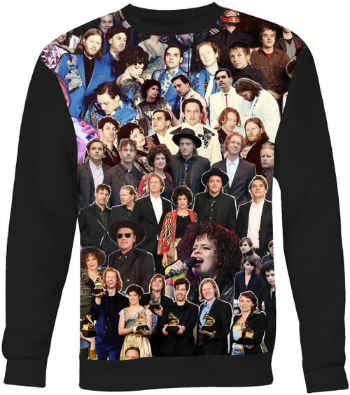 Arcade Fire Collage Sweater Sweatshirt