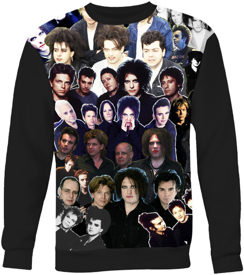 The Cure Collage Sweater Sweatshirt