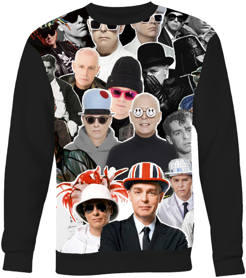 Pet Shop Boys Collage Sweater Sweatshirt