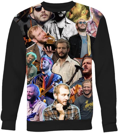 Justin Vernon Collage Sweater Sweatshirt