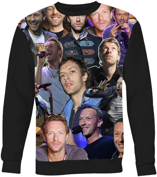 Chris Martin Collage Sweater Sweatshirt