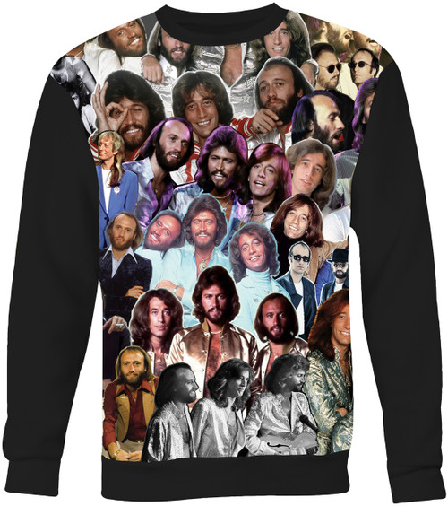 Bee Gees Collage Sweater Sweatshirt