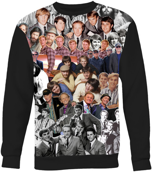 The Beach Boys Collage Sweater Sweatshirt