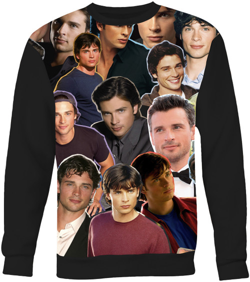 Tom Welling Collage Sweater Sweatshirt