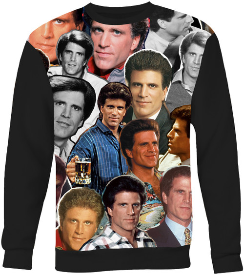 Ted Danson Collage Sweater Sweatshirt