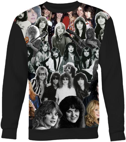 Heart (Band) Collage Sweater Sweatshirt