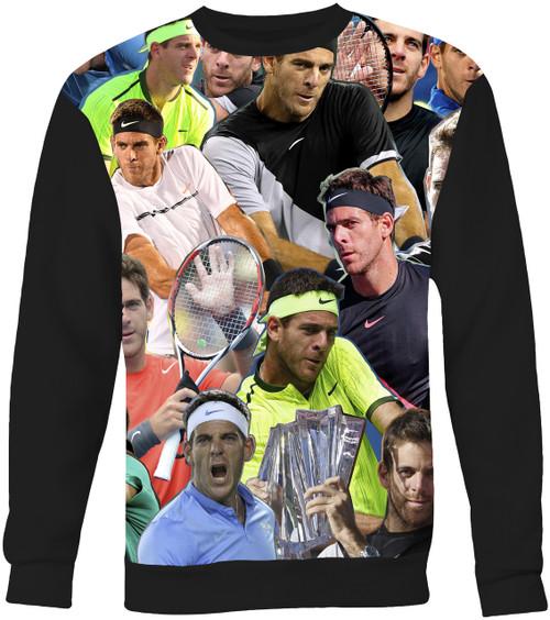 Juan Martin Del Potro Collage Sweater Sweatshirt