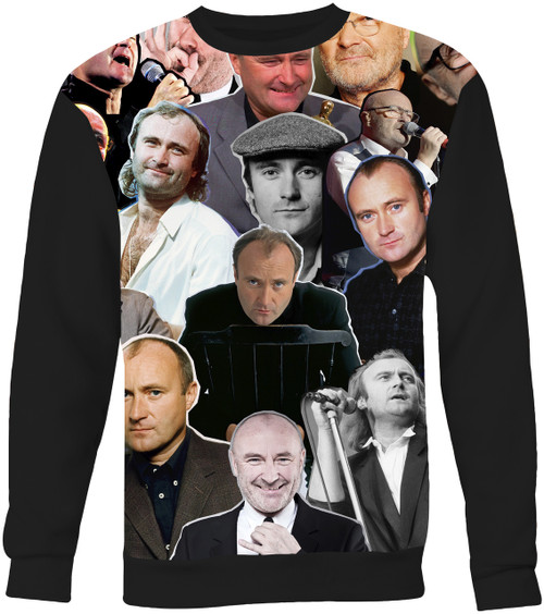 Phil Collins Collage Sweater Sweatshirt
