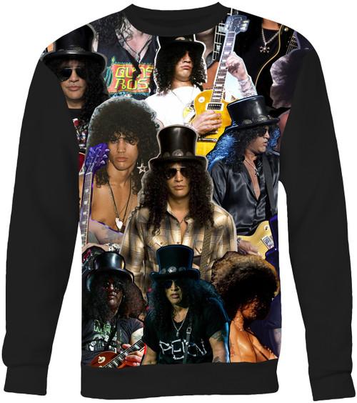 Slash Collage Sweater Sweatshirt