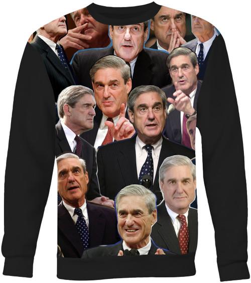 Robert Mueller Collage Sweater Sweatshirt