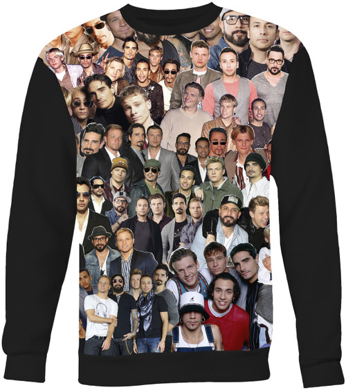 Backstreet Boys Collage Sweater Sweatshirt