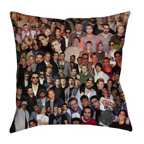 Backstreet Boys Photo Collage Pillowcase