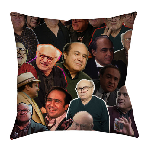 Danny Devito Photo Collage Pillowcase