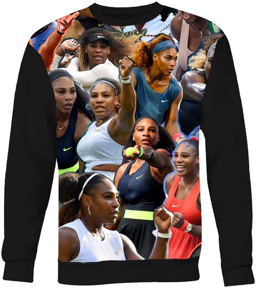 Serena Williams Collage Sweater Sweatshirt