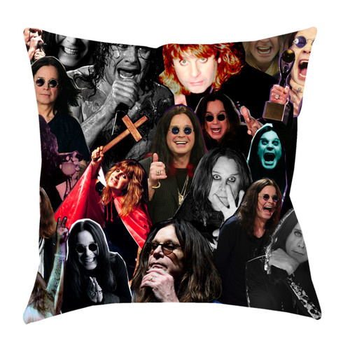 Ozzy Osbourne Photo Collage Pillowcase