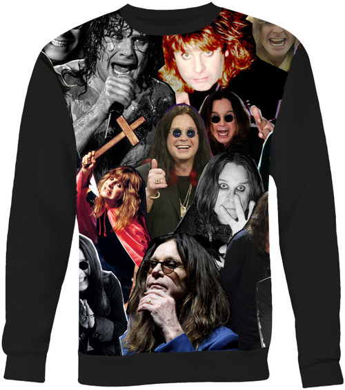 Ozzy Osbourne Collage Sweater Sweatshirt