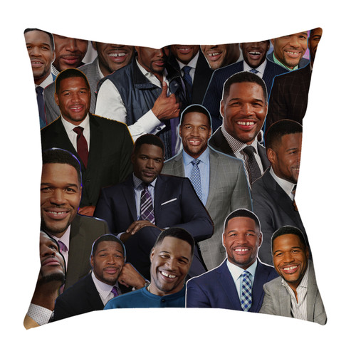 Michael Strahan pillowcase