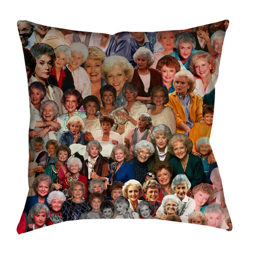 The Golden Girls Photo Collage Pillowcase