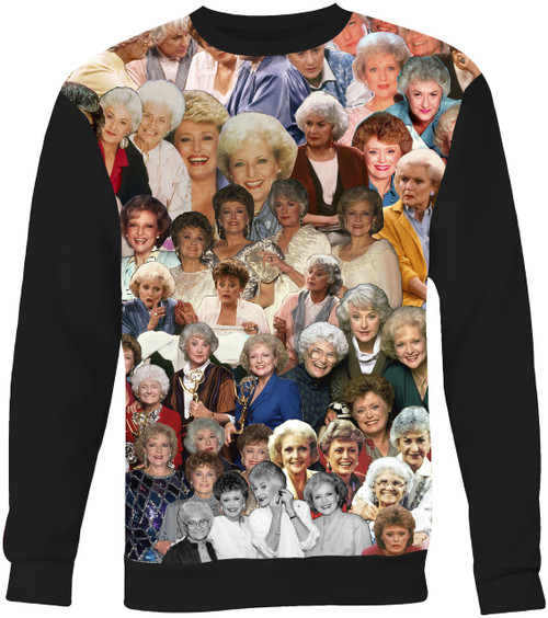 The Golden Girls Collage Sweater Sweatshirt
