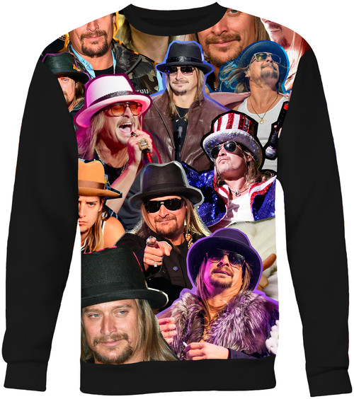 Kid Rock Collage Sweater Sweatshirt