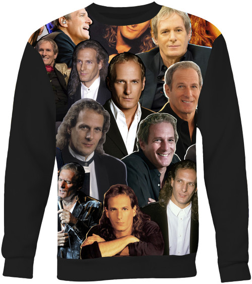 Michael Bolton Collage Sweater Sweatshirt