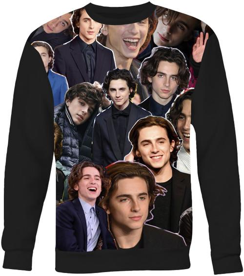 Timothee Chalamet Collage Sweater Sweatshirt