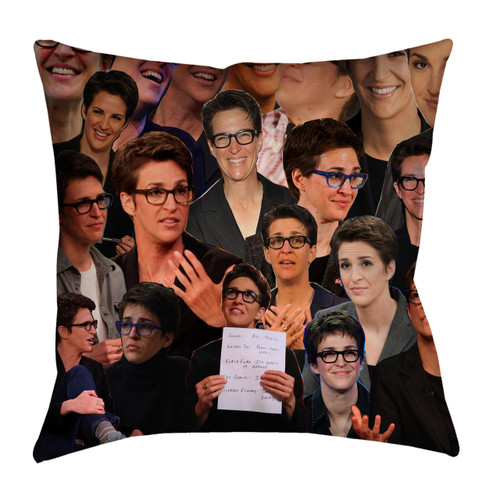 Rachel Maddow Photo Collage Pillowcase