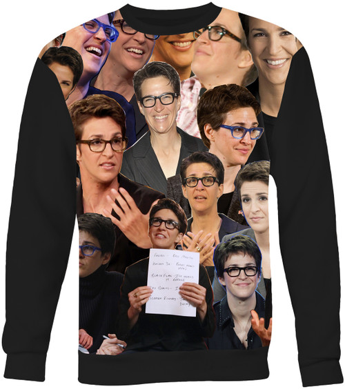 Rachel Maddow Collage Sweater Sweatshirt