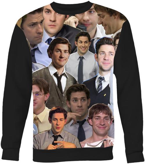 Jim Halpert The Office Collage Sweater Sweatshirt