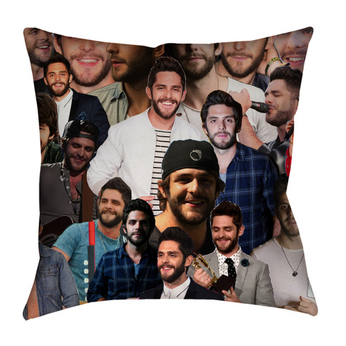 Thomas Rhett Photo Collage Pillowcase