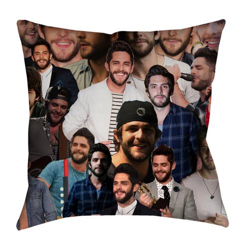 Thomas Rhett Photo Collage Pillowcase