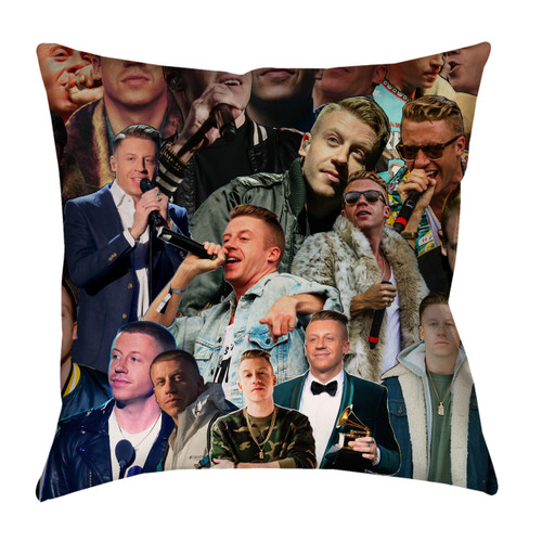 Macklemore Photo Collage Pillowcase