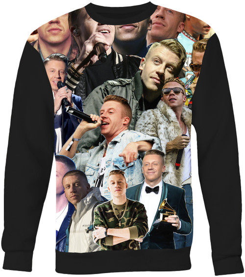 Macklemore Collage Sweater Sweatshirt