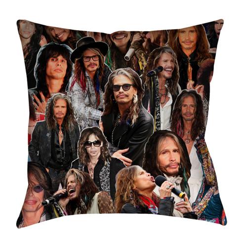 Steven Tyler Aerosmith Photo Collage Pillowcase