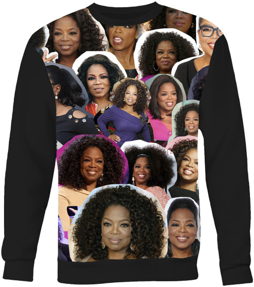 Oprah Winfrey Collage Sweater Sweatshirt