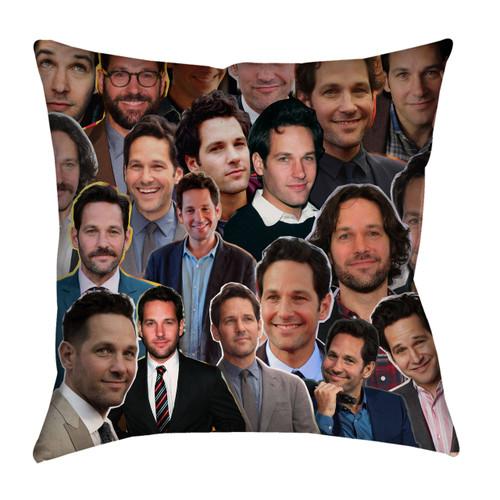 Paul Rudd Photo Collage Pillowcase